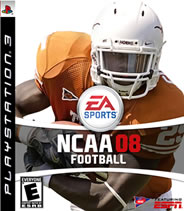 Jamaal Charles NCAA 08 custom cover