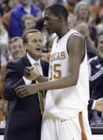 Rick Barnes and Kevin Durant