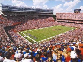 Ben Hill Griffin Stadium aka The Swamp