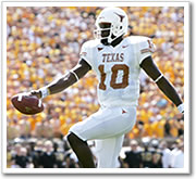 Vince Young runs almost untouched for a TD