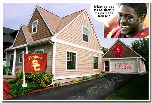 Reggie Bush's Posh Family Home