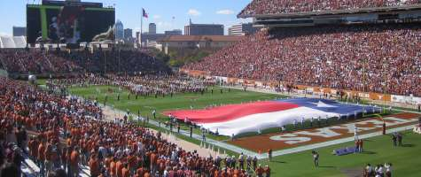 Top Stadiums: #4 Texas