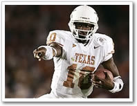 Vince Young is SI.com's number 2 player in the Big XII