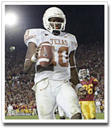 Vince Young runs for a TD against USC