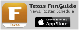 Texas FanGuide - Texas Longhorns fan app with roster, news, and team schedule