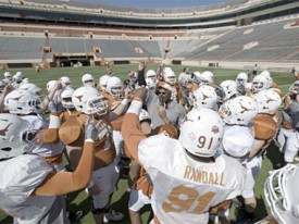 The Orange-White Scrimmage is Sunday at 2:30pm. (Photo: MB-TF.com)