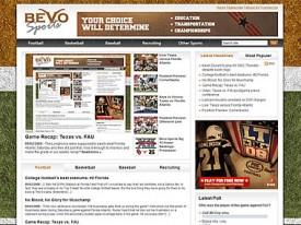 The all-new BevoSports.com