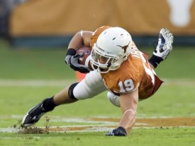 Texas Longhorns tight end Blaine Irby will miss the entire 2009 season.