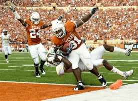 Antwan Cobb was a lead blocker on many of Texas' 2009 short yardage touchdowns. (Image: Zimbio)