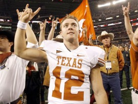Should Texas retire Colt McCoy's #12 jersey?