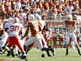Colt McCoy will look to win his first championship today versus Nebraska. (Image: Scout.com)