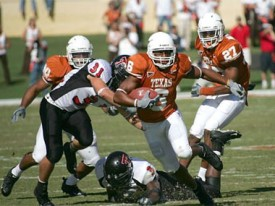 Quan Cosby should have a big day against Texas Tech