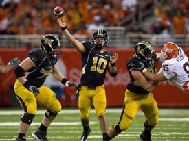 Can the Longhorns stop Missouri's Chase Daniel?