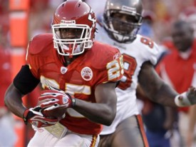 Jamaal Charles had a big game for the Chiefs
