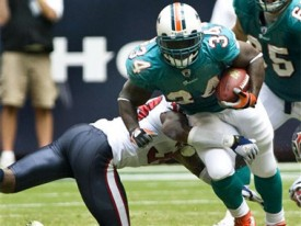 Ricky Williams had his first TD of 2008