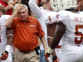 Mack Brown looking for answers against OU.