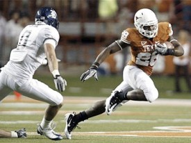 Texas running back Malcolm Brown