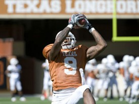 Receiver Malcolm Williams may be the most important offensive player in 2009. (MB-TF.com)