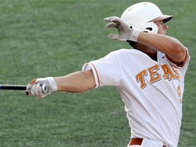Texas senior 3B Michael Torres had 2 home runs against TCU. (Statesman.com)