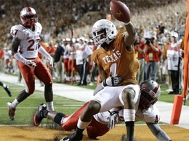 Mike Davis touchdown against New Mexico