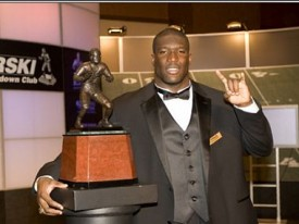 Brian Orakpo is Texas' second Nagurski winner