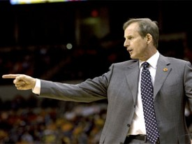 Rick Barnes has his work cut out for him in the East bracket. (TexasSports.com)