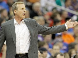 Rick Barnes' Texas basketball team collapsed midseason.