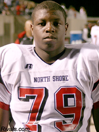 Galena Park North Shore's Sedrick Flowers is the Longhorns 15th 2011 commit. (Image: Rivals)