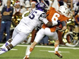 Case McCoy is sacked by TCU