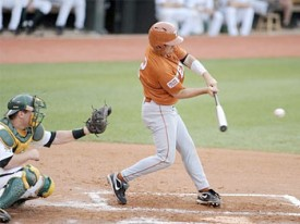 Travis Tucker hit a grand slam Saturday against Baylor.