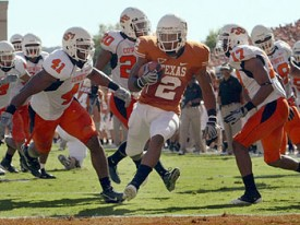 Do the Longhorns need Vondrell McGee and the rest of the running backs to step up?
