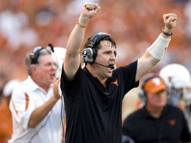Will Texas coach Will Muschamp be wearing the wrong orange for the wrong UT next year?